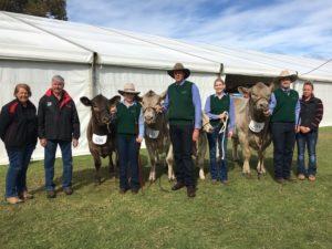 Bottlesford team at Adelaide Show